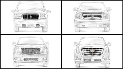 small resolution of 2007 cadillac escalade front bumper part diagram