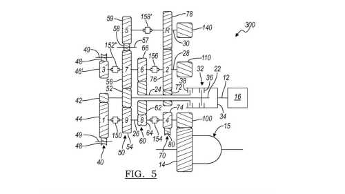 small resolution of gm eight speed dual clutch gearbox patent