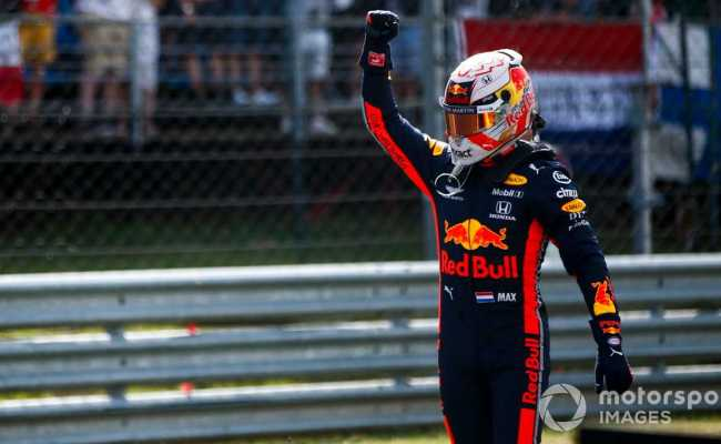 Hungarian Gp Verstappen Beats Bottas To Grab Maiden F1 Pole