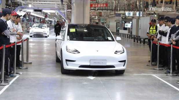 Tesla Model 3 (Source: New China TV)