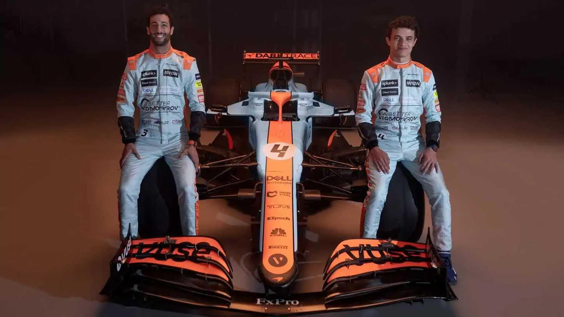 wallpapers Mclaren F1 Monaco Livery Wallpaper 4K motor1 com uk