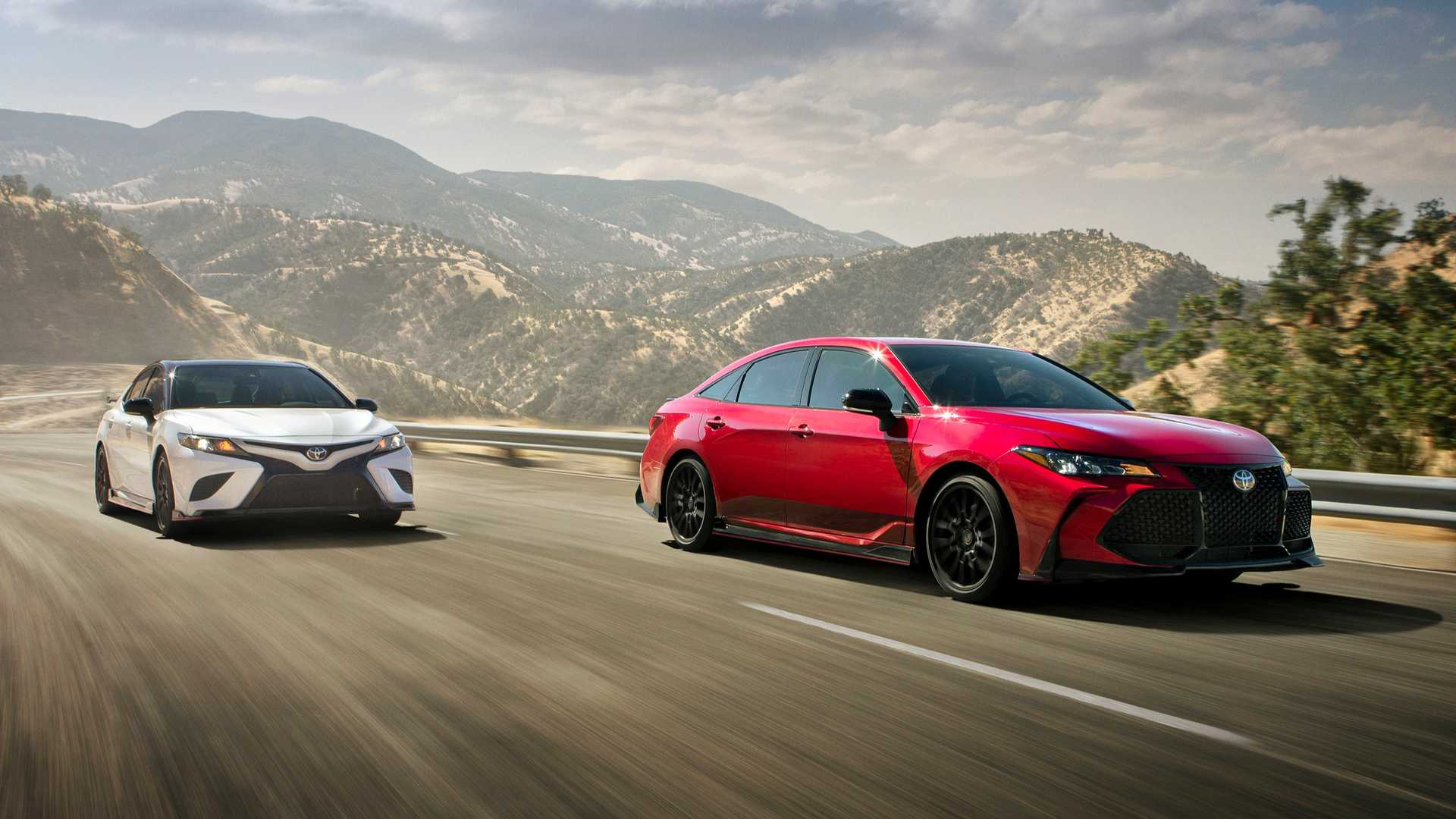 all new camry sport test drive grand veloz 1.3 toyota avalon trd add touch of to sedan segment
