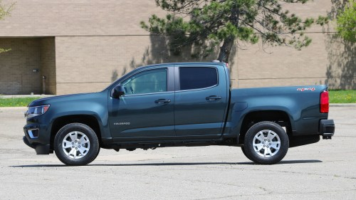 small resolution of 2017 chevy colorado review