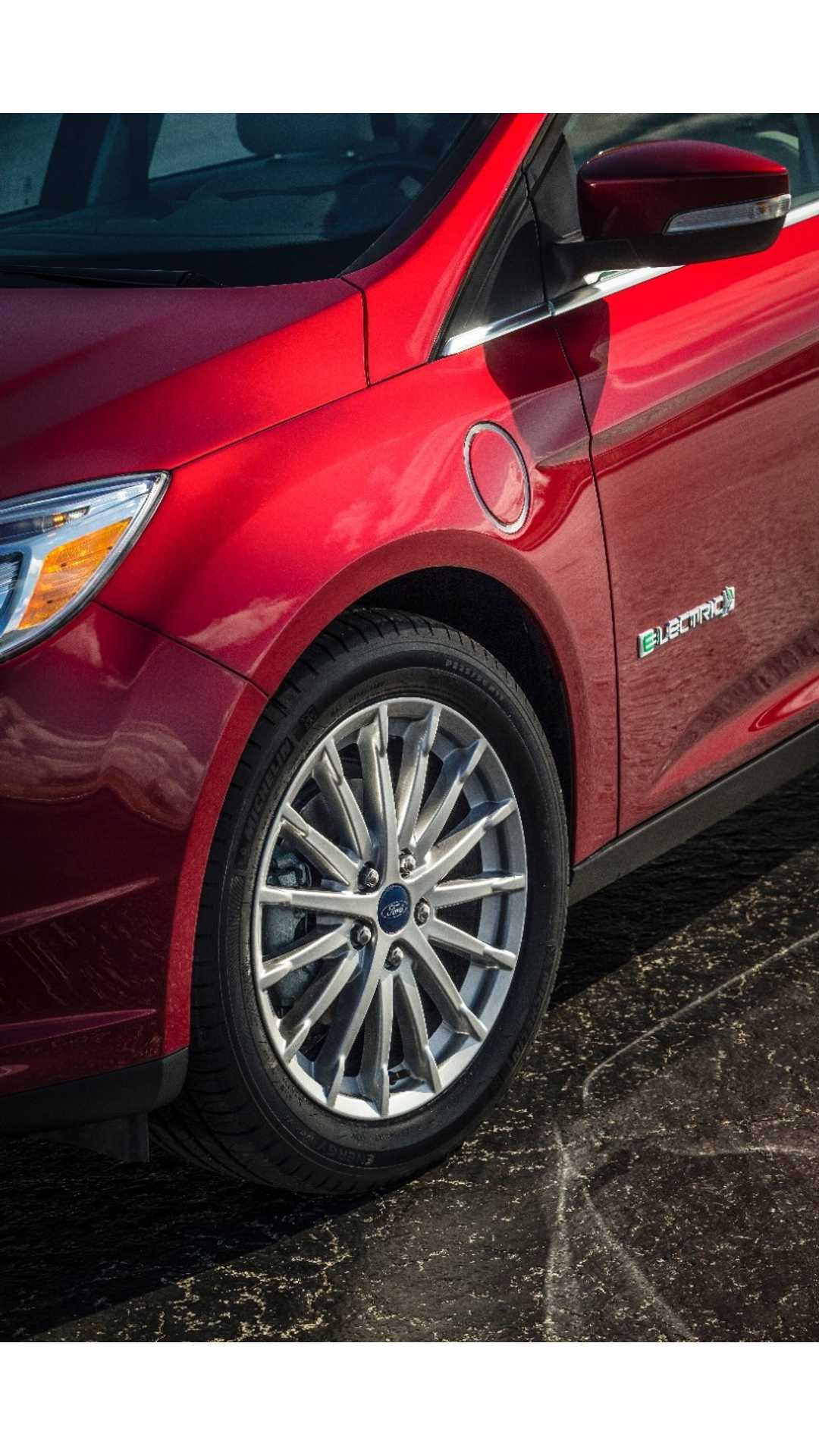 Red 2015 Ford Focus : focus, Focus, Electric, Official, Reveal