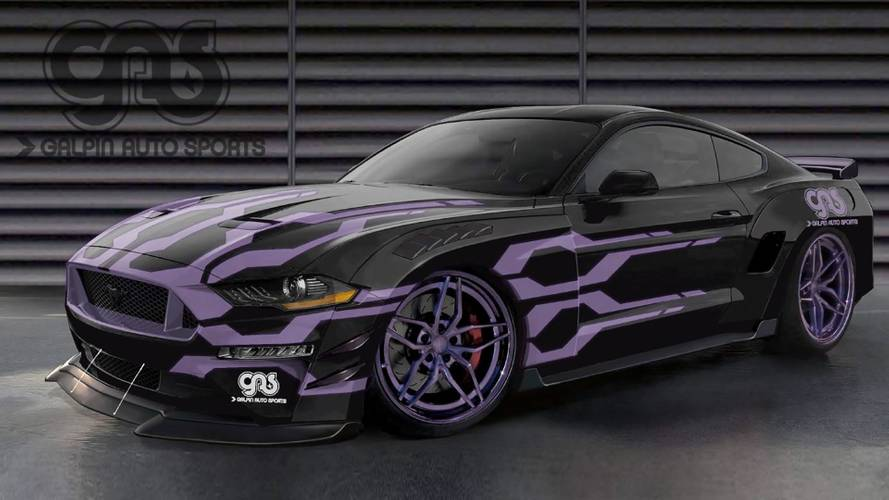2018 Ford Mustang Sema   Motor1.com Photos