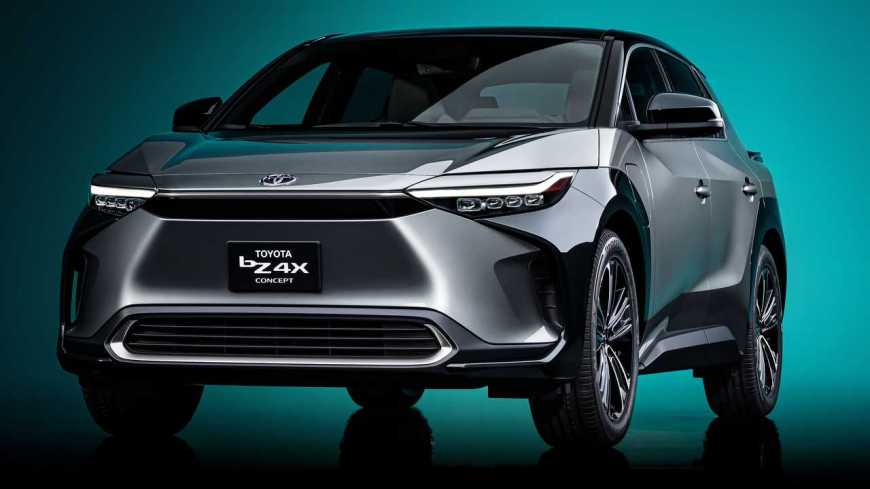 Toyota bZ4X Concept Debuts As Vision Of Future Electric Crossover