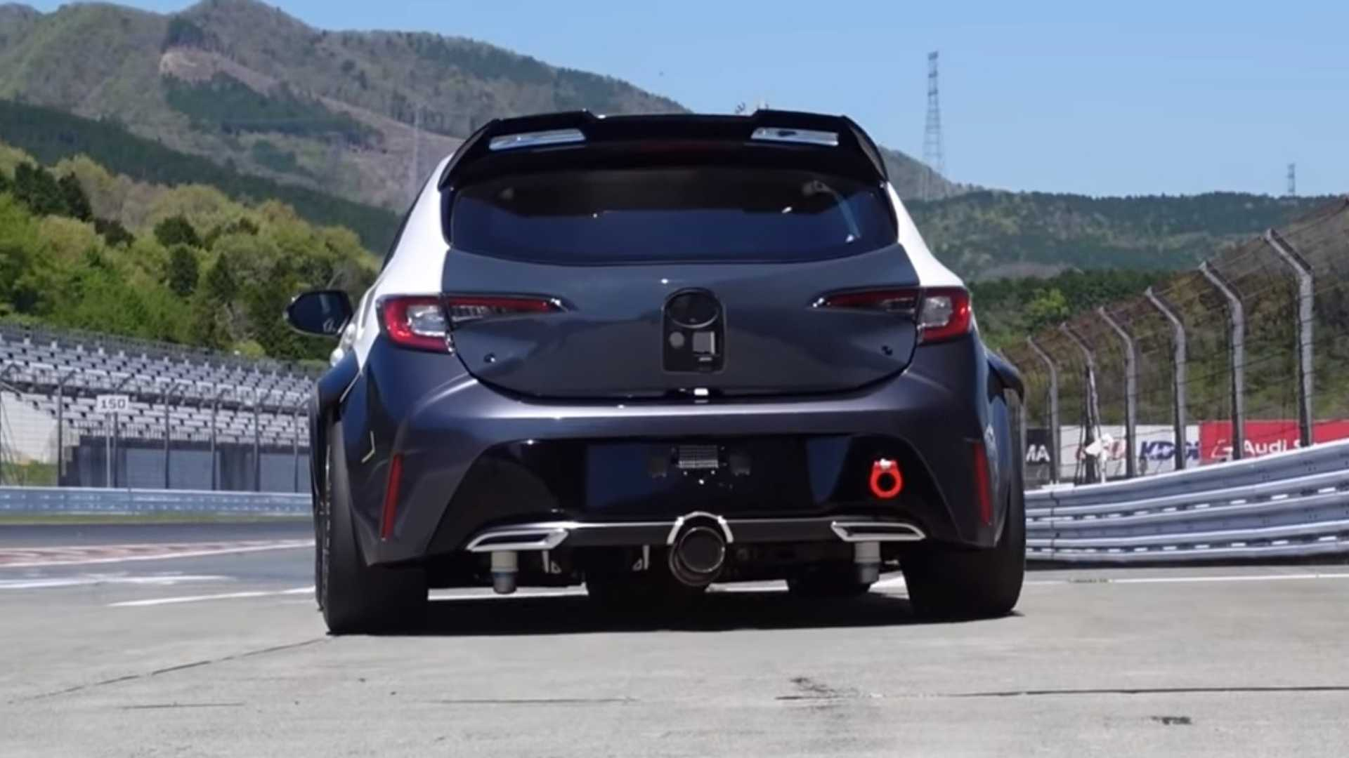 toyota corolla with hydrogen fueled combustion engine sounds good