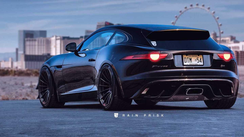 Jaguar F-type R Shooting Brake Render