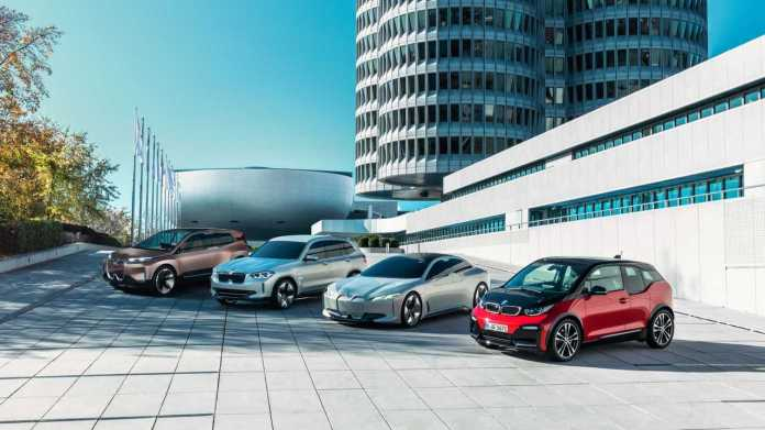 BMW Group electrified vehicles (11/2019)