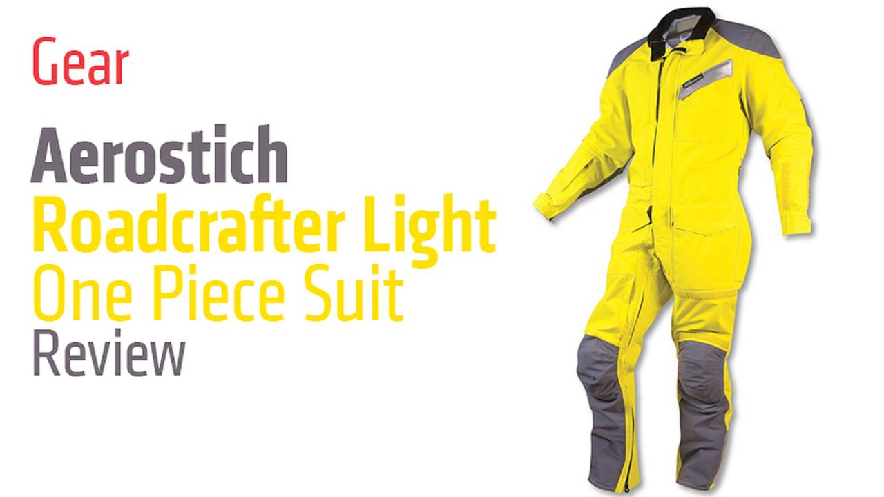 Gear: Aerostich Roadcrafter Light One Piece Suit