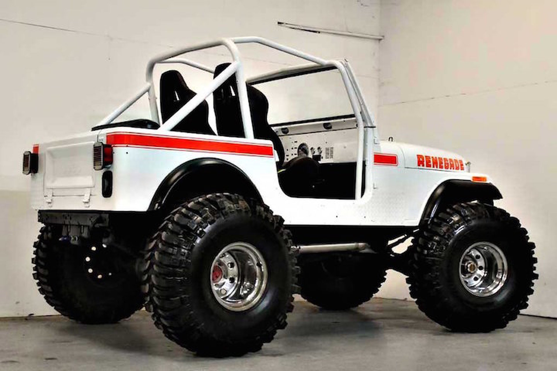 hight resolution of this 1980 jeep cj7 renegade restomod is the business