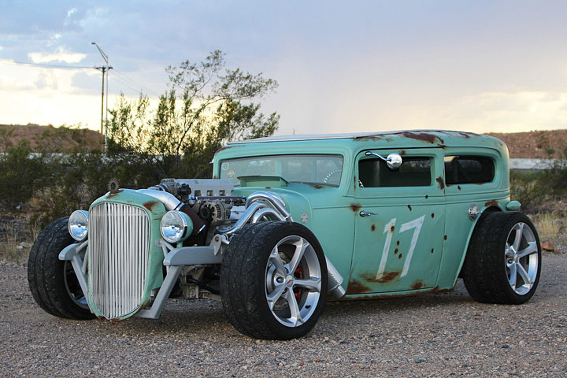 hight resolution of there s a corvette heart in this 32 chevrolet rat rod