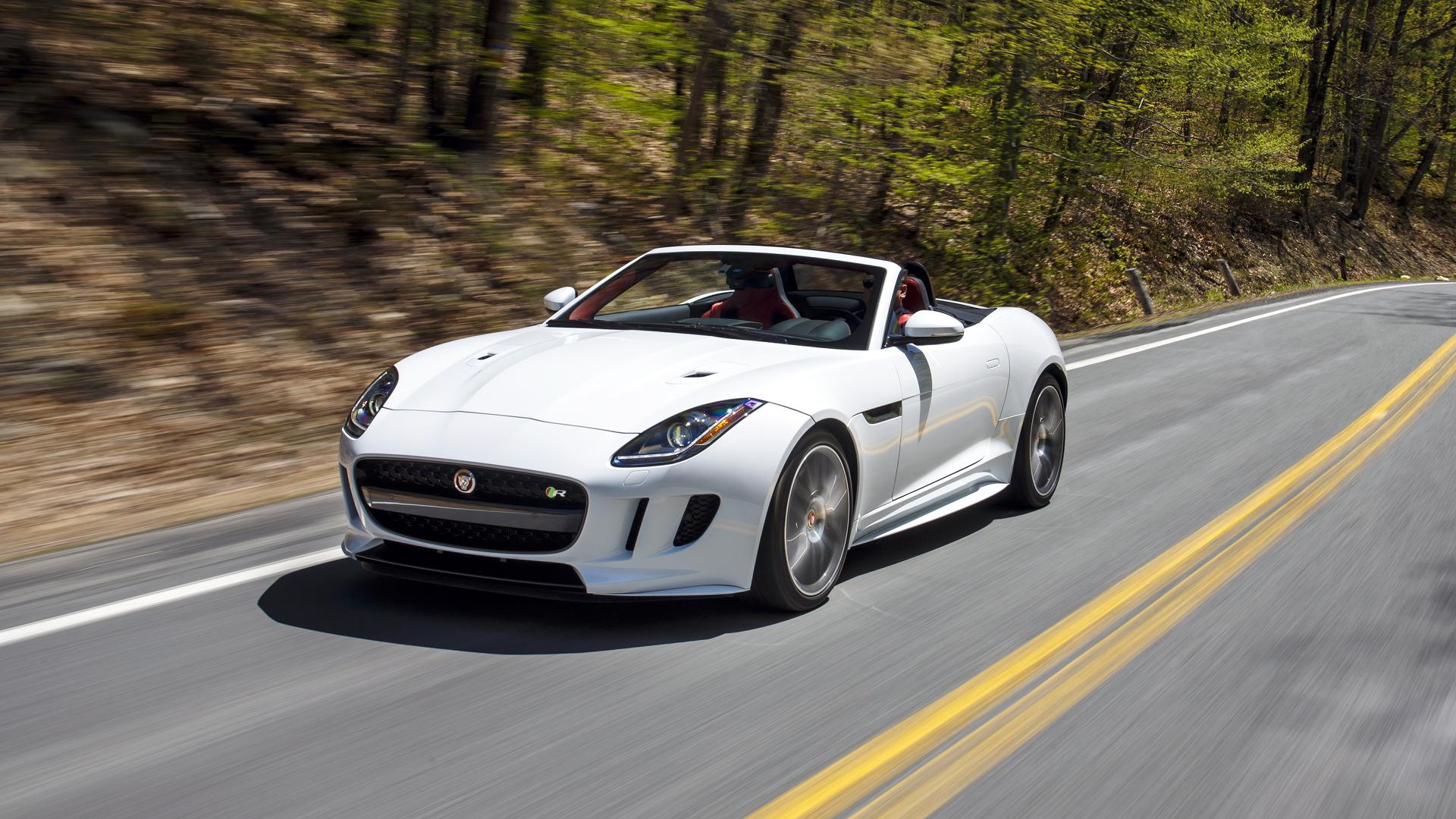 hight resolution of jaguar f type r convertible