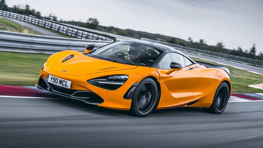 Mclaren 720s Gains Track Pack, Loses 53 Pounds