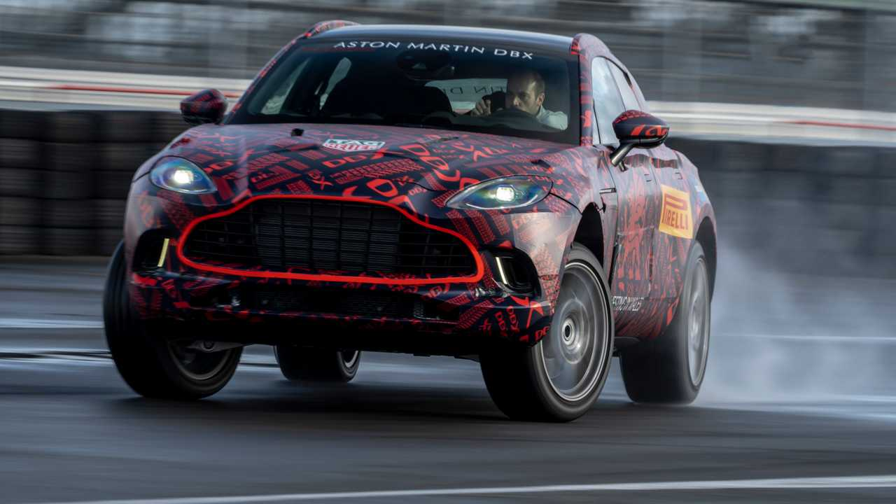 Aston Martin Dbx Will Produce Nearly 550 Hp From Its Twin