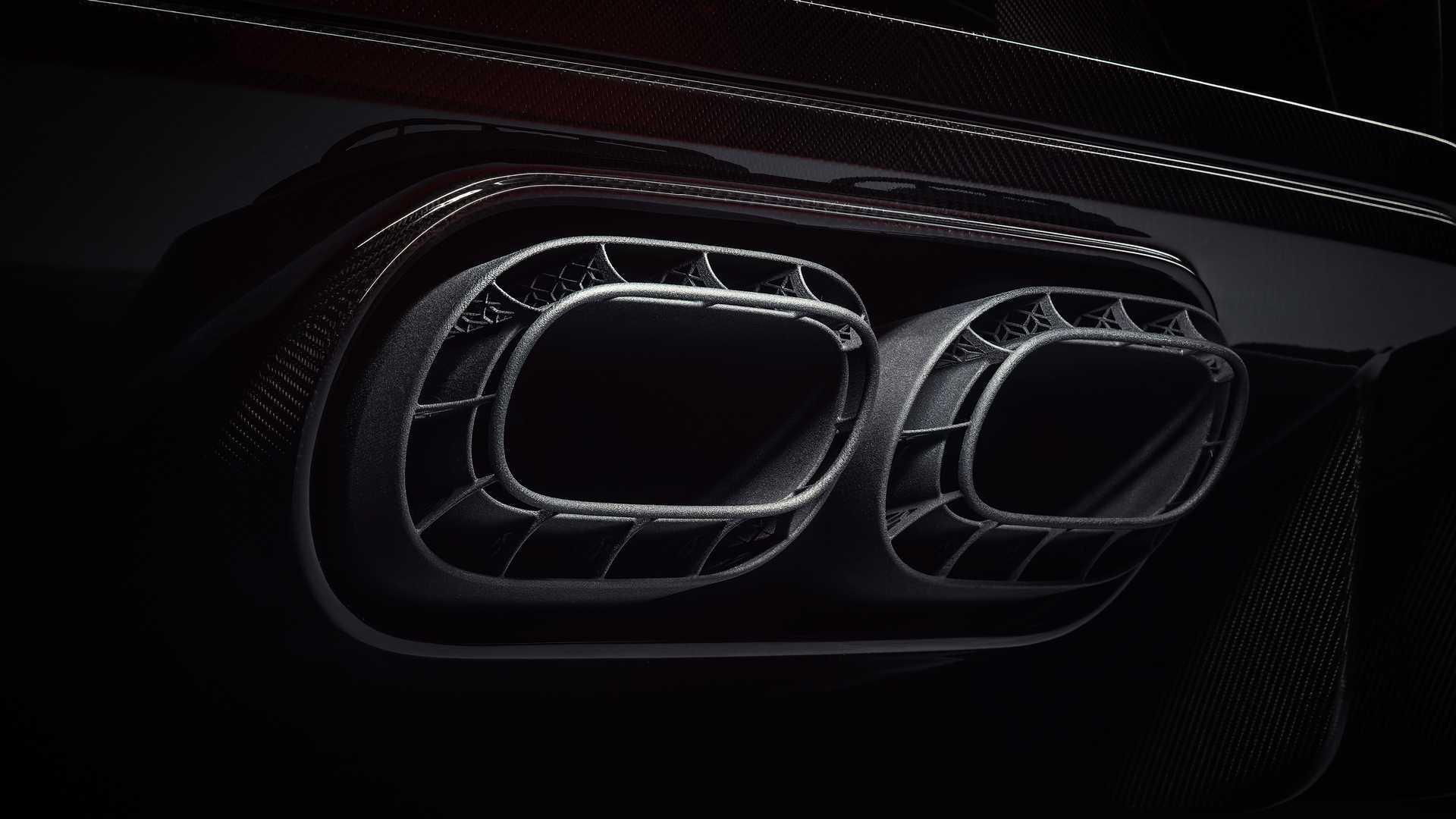 bugatti uses 3d printed titanium covers