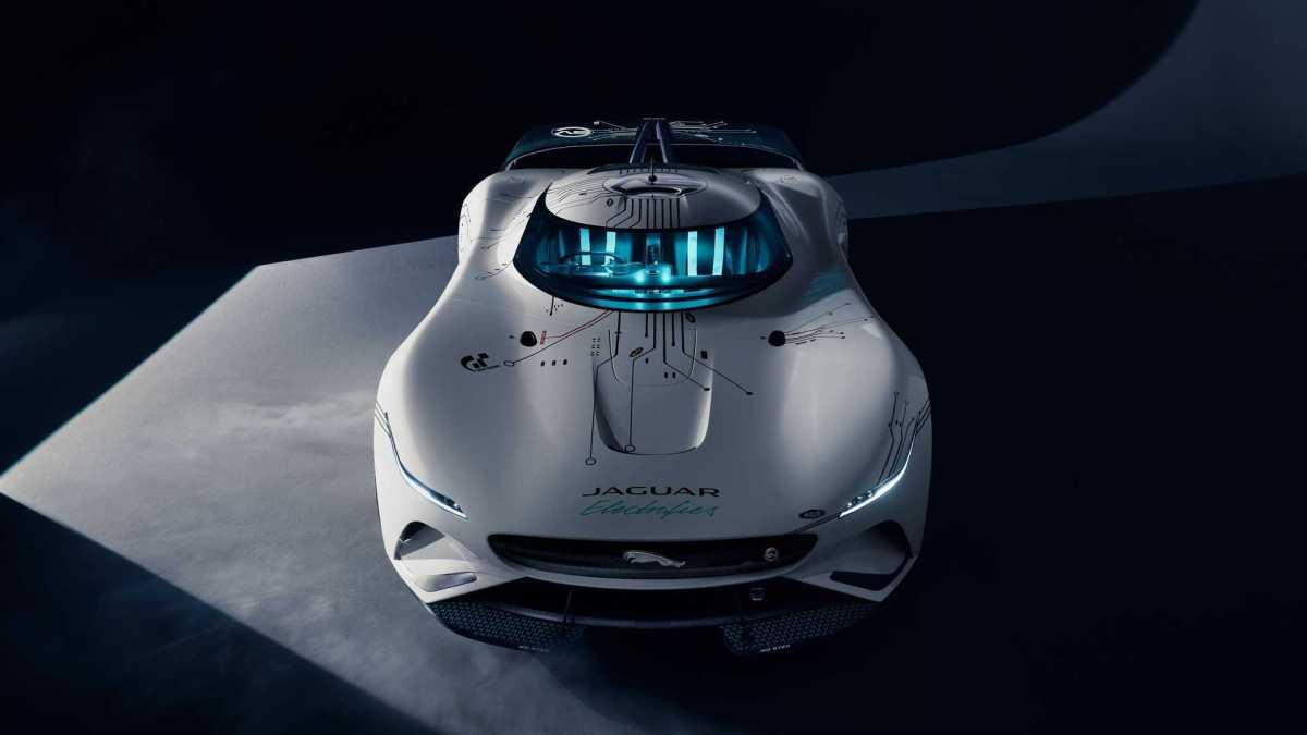 Jaguar Vision Gran Turismo SV | autohage.com