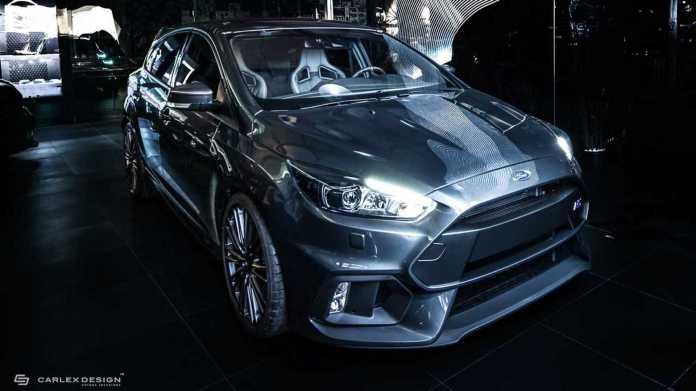 Ford Focus Rs Interior Tastefully Redone By Carlex Design