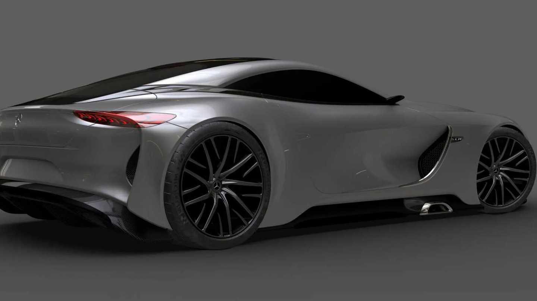 Mercedes-benz Slr Vision