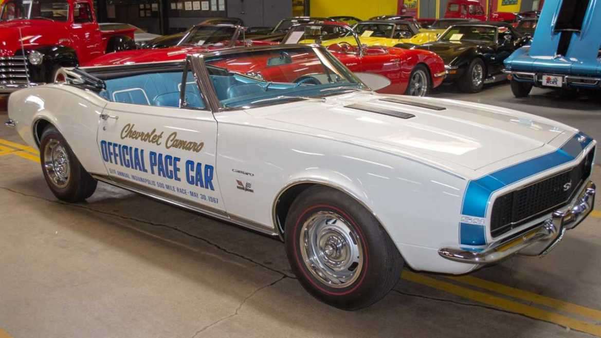Buy This 1967 Chevrolet Camaro Pace Car Signed By Indy-Winner AJ Foyt