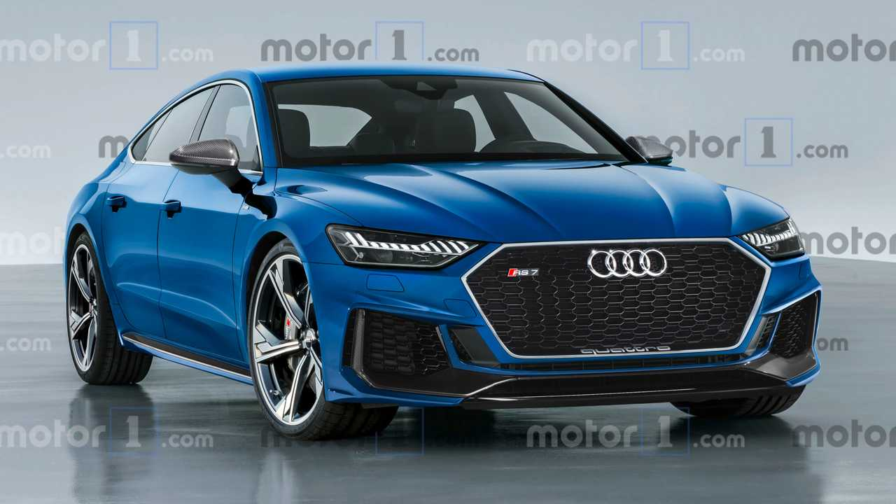 New Audi Rs7 Sportback Rendering Has The Wow Factor
