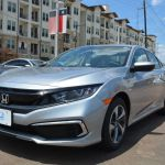 New 2020 Honda Civic Sedan Lx Cvt For Sale In Houston Texas Lh579963 Penskecars Com