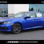 2020 New Honda Civic Sedan Sport Cvt At Capitol Honda Serving San Jose Santa Clara Milpitas Ca Iid 20329193