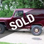 1956 Willys Sedan Delivery 4x4 Wagon For Sale Riverhead Ny 47 995 Motorcar Com