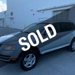 2007 Used Volkswagen Touareg V6 Awd At Miami Lauderdale Cars Serving Pompano Beach Fl Iid 20469396