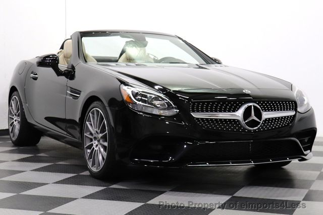 2019 Used Mercedes-Benz CERTIFIED SLC300 AMG Sport NAV CAM BLIS HK AUDIO at eimports4Less Serving Doylestown. Bucks County. PA. IID 18900196