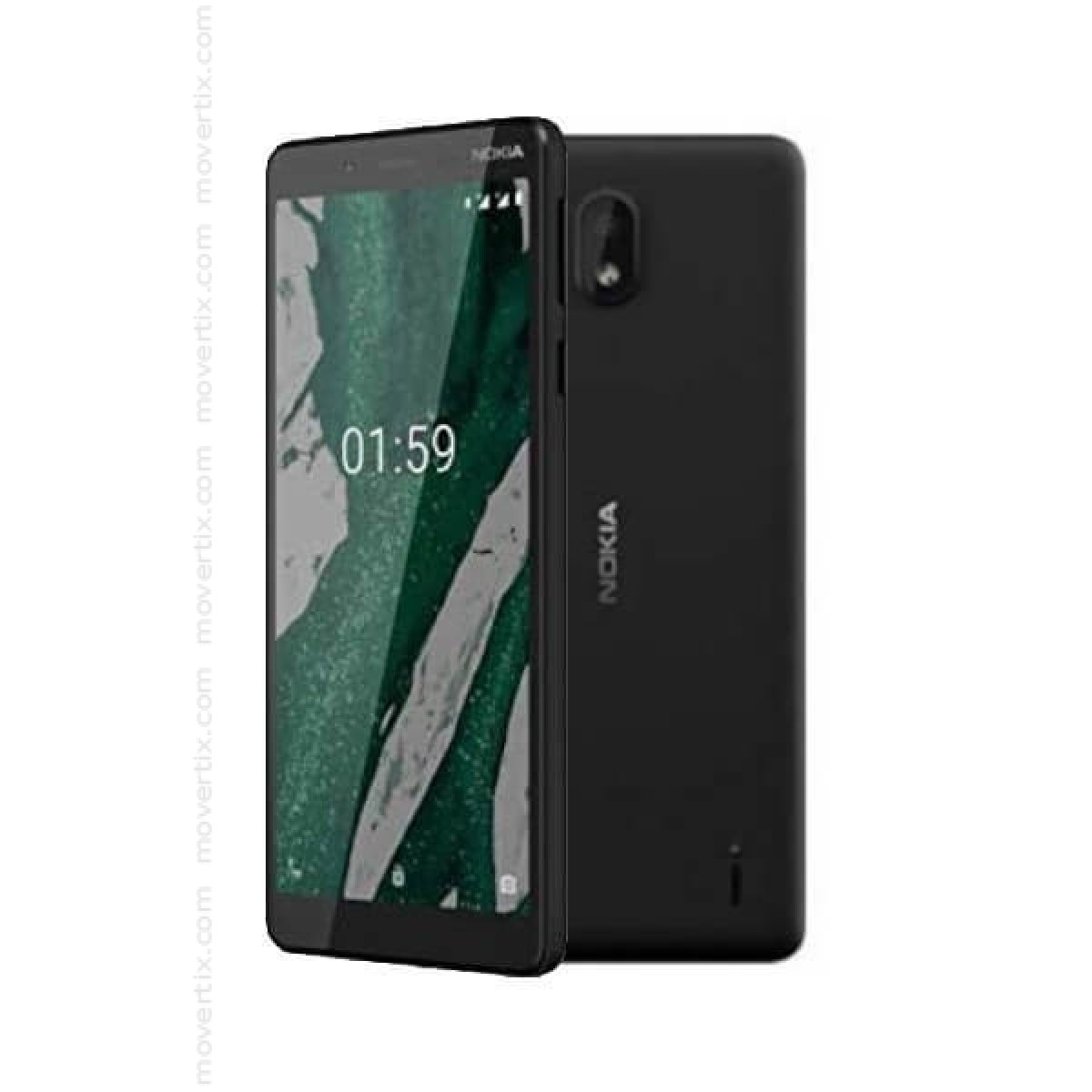 Nokia 1 Plus Dual SIM Black 8GB and 1GB RAM (6438409028617) | Movertix Mobile Phones Shop