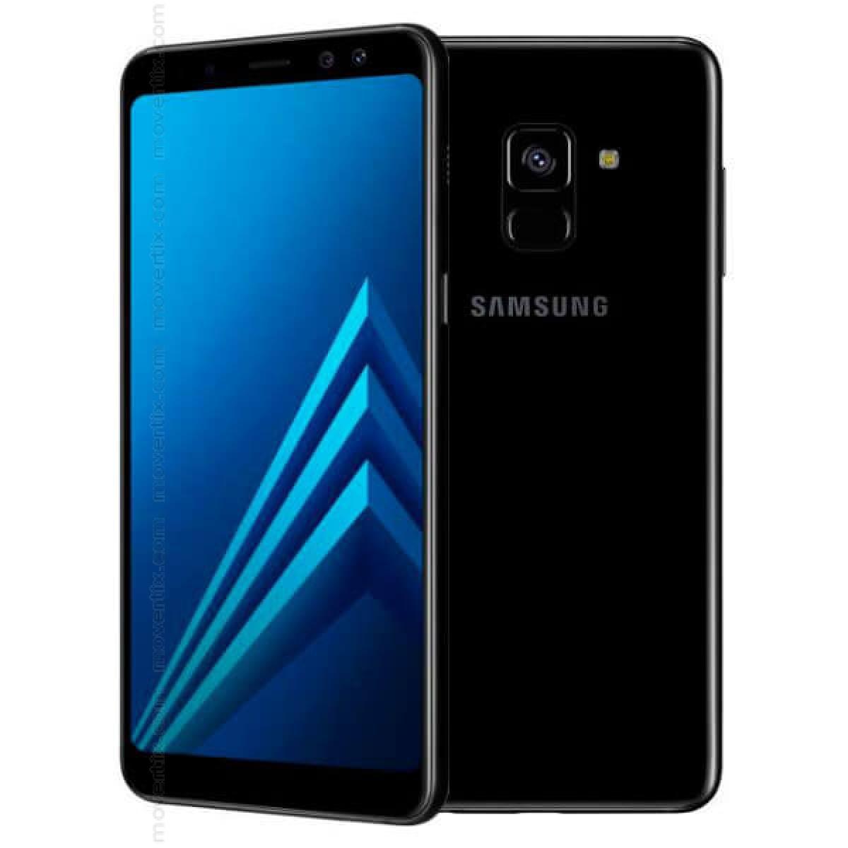 Samsung Galaxy A8 (2018) Dual SIM Black 32GB - SM-A530 (8850007057376) | Movertix Mobile Phones Shop