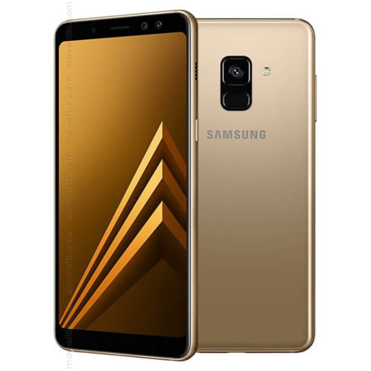 Samsung Galaxy A8 (2018) Dual SIM Gold 32GB - SM-A530 (8801643068196) | Movertix Mobile Phones Shop
