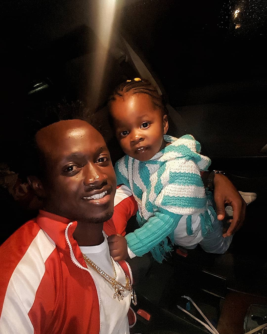 Awww! Bahati Does This Amazing Thing For His First Born