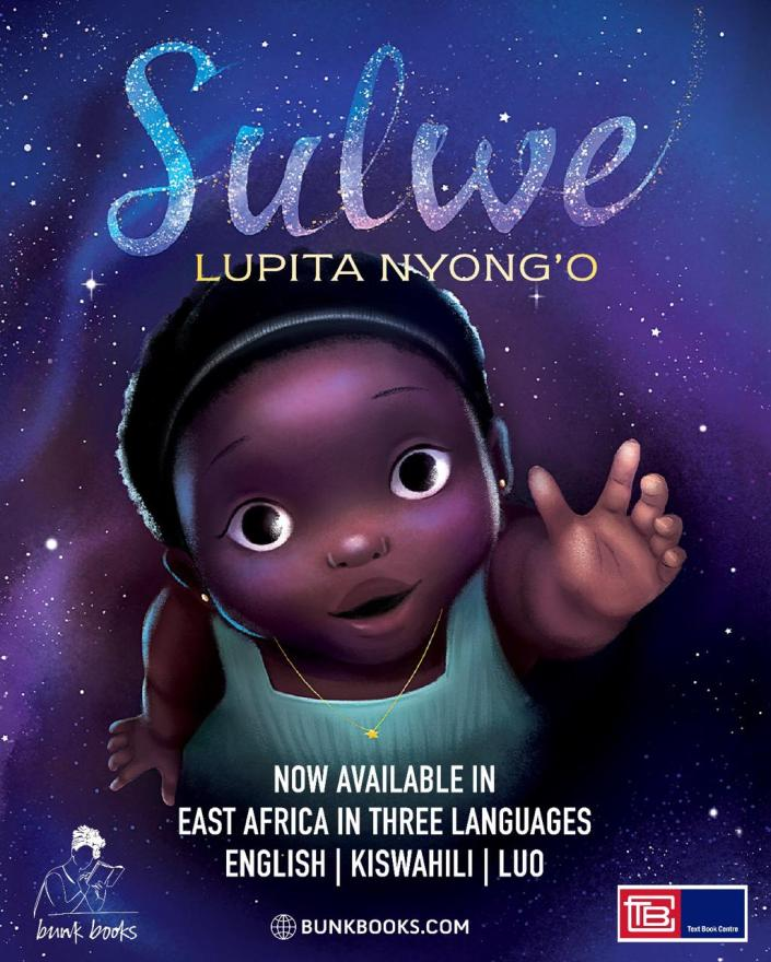 Lupita Nyong'o's book 'Sulwe' now in Kiswahili and Luo