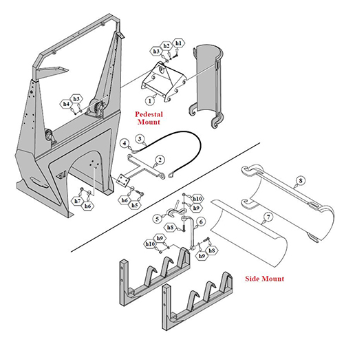 MPParts: Specialty Truck Parts: Rear Discharge Mixer Parts