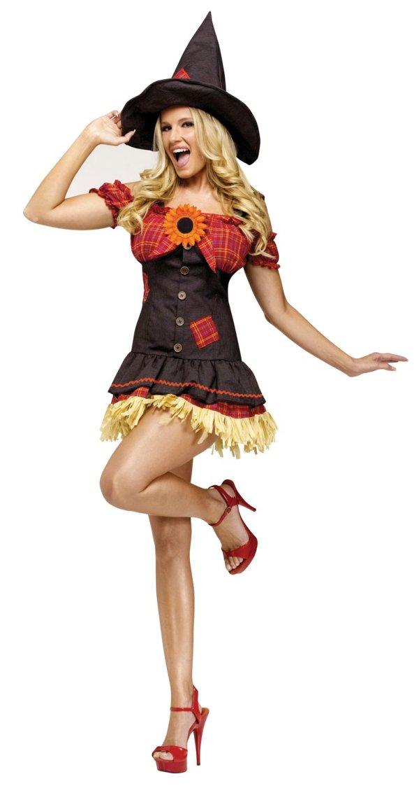 Sexy Wizard Of Oz Scarecrow Sweetie Costume - . Costumes