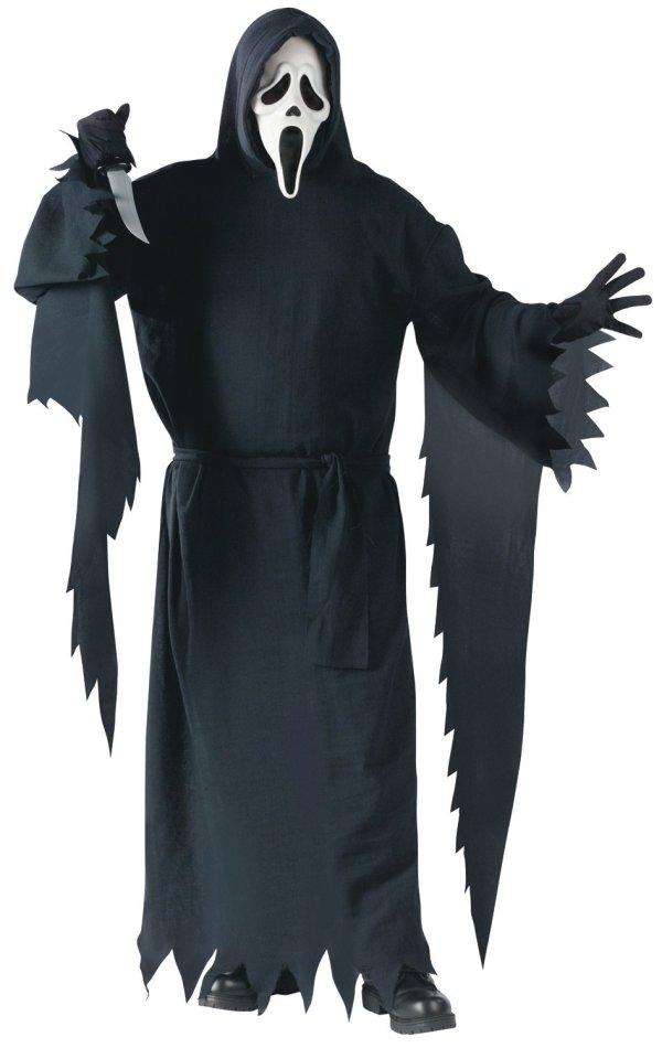 Mens Scream Ghost Plus Size Costume Mr Costumes
