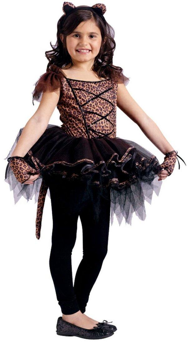 Girls Cougar Ballerina Kids Costume - . Costumes