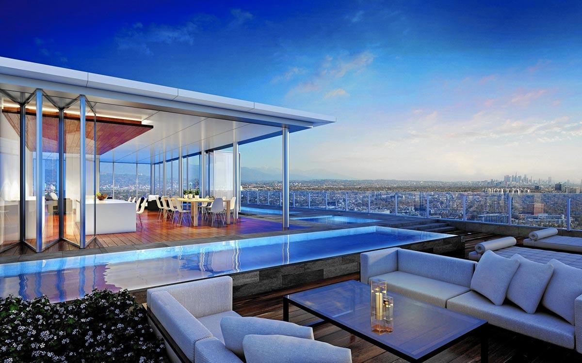 Paparazzi Proof 50 Mio Penthouse in LA  MRGOODLIFE