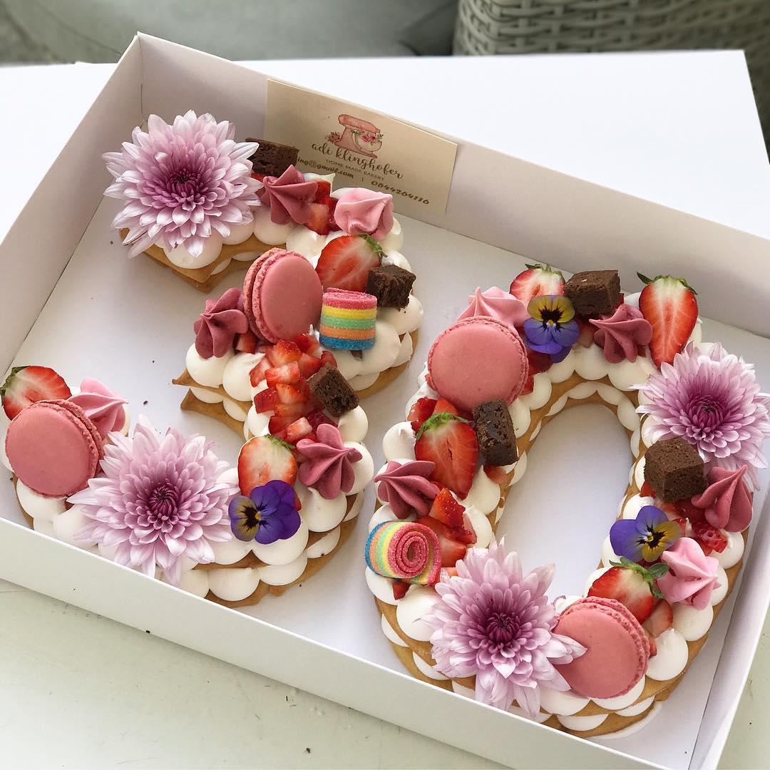 Zuckers Die einzigartigen Geburtstagskuchen von Adi