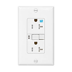 Cooper Wiring, Self-Testing Weatherproof GFCI Outlet