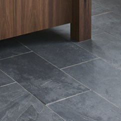 Stone Kitchen Flooring Counter Lighting Tiles Porcelain Ceramic And Natural Slate Tile