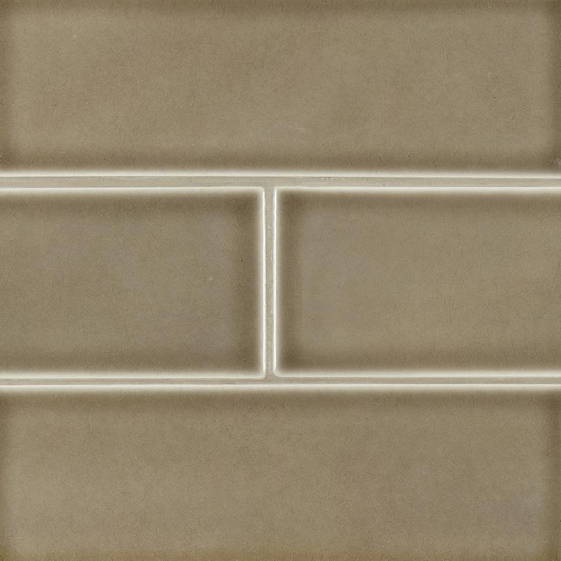 artisan taupe 4x12 wall tile subway