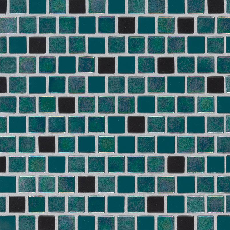 swimming pool tile carribean mermaid glass tile