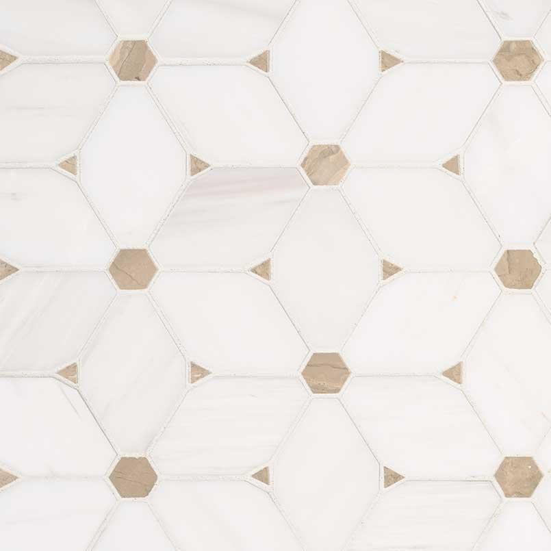 bianco starlite porcelain tiles patterned backsplash tile