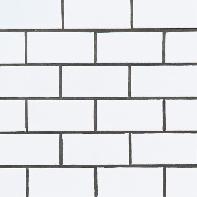 domino white glossy subway tile
