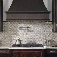 Kitchen Backsplash Glass Tiles Outdoor Kitchens On A Budget Tile Backsplashes Wall