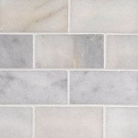 Greecian White Marble Subway Tile 3x6   Subway Tile Collection