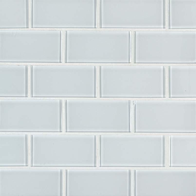 ice subway tile mosaic tile glass backsplash tile